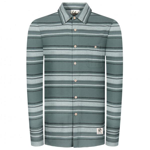 Bleed - Striped Flanell Hemd - Overhemd