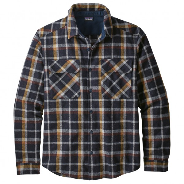 Patagonia - L/S Recycled Wool Shirt - Skjorta