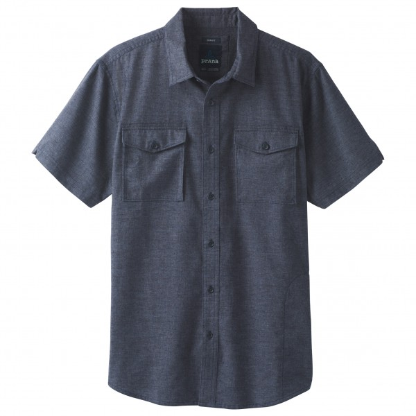 Prana - Merger Short Sleeve Shirt - Overhemd