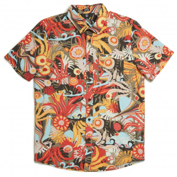 Volcom - Psych Floral S/S - Camisa