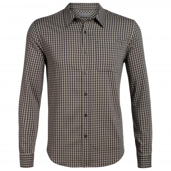 Icebreaker - Compass Flannel L/S Shirt - Skjorta