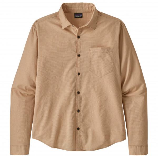 Patagonia - L/S Organic Cotton Slub Poplin Shirt - Skjorta