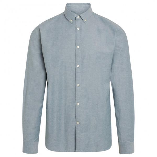 Elder Regular Fit Small Owl Oxford Shirt Vegan - Shirt