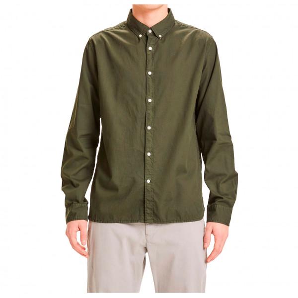 Larch Casual Fit Cord Shirt Vegan - Shirt