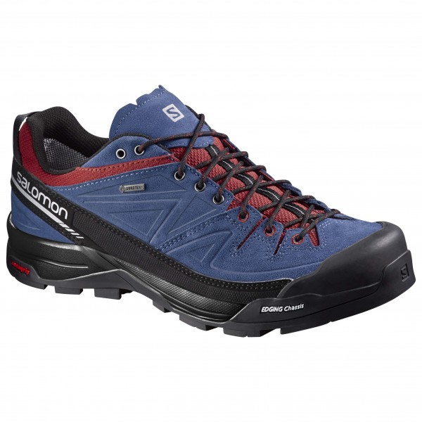 Salomon - X Alp Leather GTX - Approach-kenkä