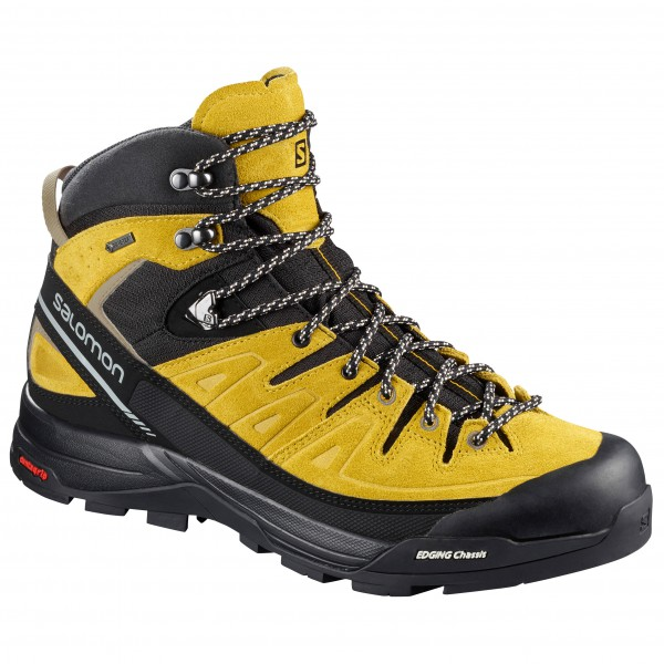 Salomon - X Alp Mid Leather GTX - Vuoristokengät