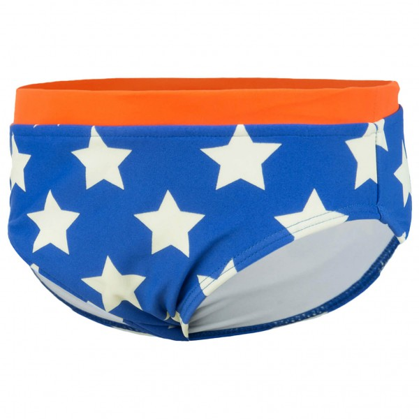 Color Kids - Kid's Visse Mini Trunks AOP - Uimahousut
