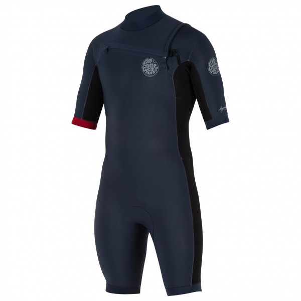 Rip Curl - Aggro 2/2 mm Chest Zip Spring - Wet suit