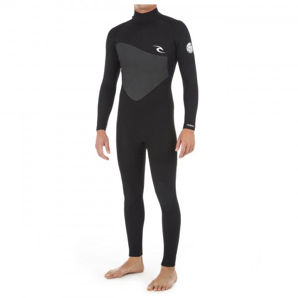 Rip Curl - Omega Back Zip 4/3 Steamer - Wet suit