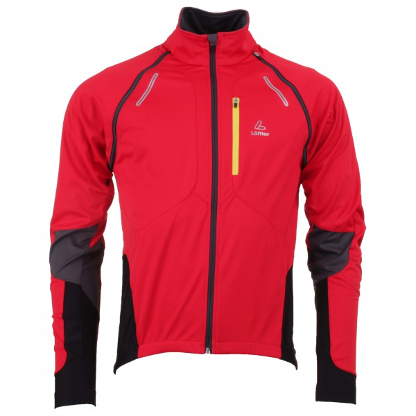 Löffler - Bike Zip-Off-Jacke ''San Remo'' WS Softshell Light - Pyöräilytakki