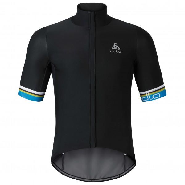 Odlo - Vlaanderen Stand-Up Collar S/S Fz - Fietsjack