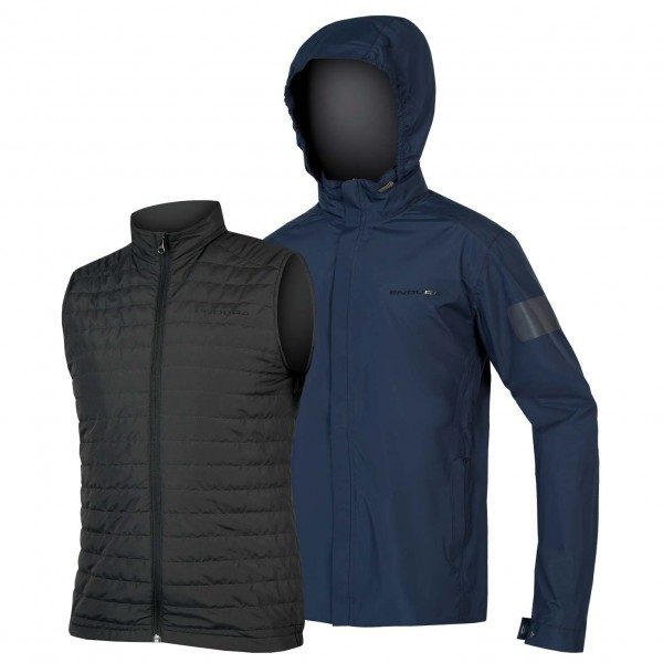 Endura - Urban 3 in 1 Regenjacken - Cycling jacket