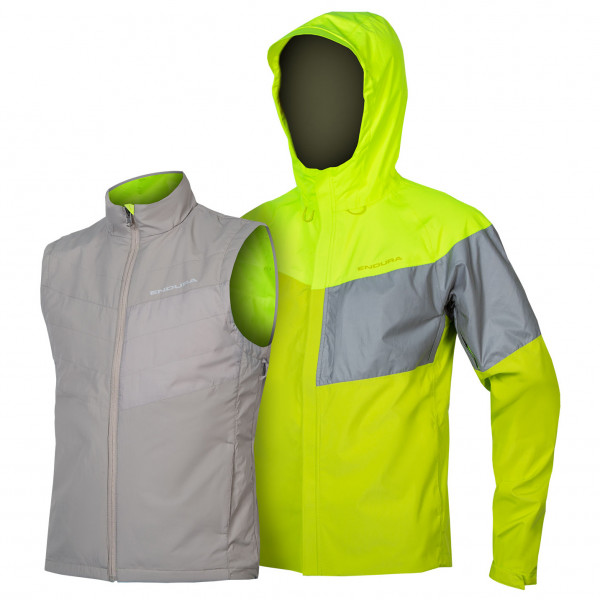 Endura - Urban Luminite 3 in 1 Jacke II - Cycling jacket