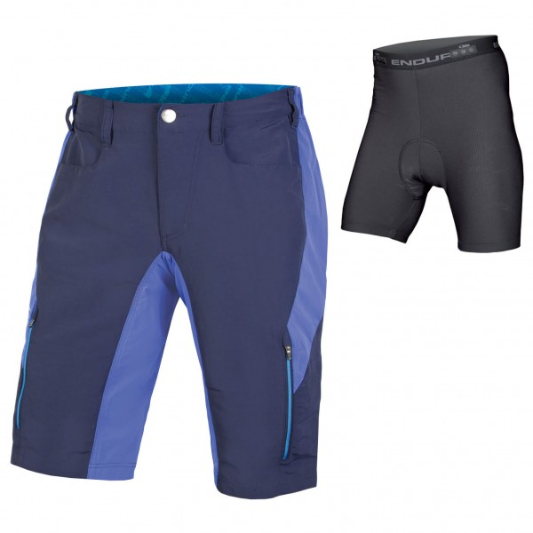Endura - Singletrack III Short With Liner - Radhose