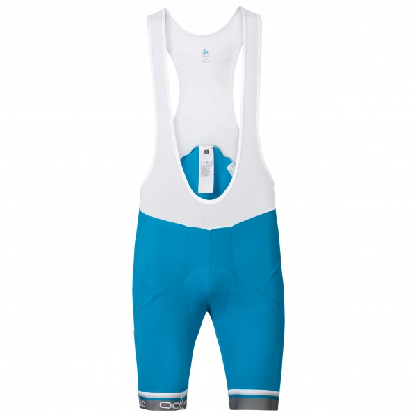 Odlo - Flash X Tights Short Suspenders - Pantalon de cyclism