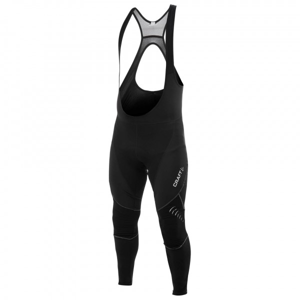 Craft - Puncheur Thermal Bib Long Tights with pad - Pantalon