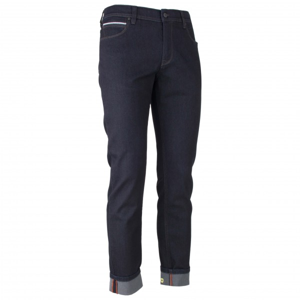 ALBERTO - Bike-B Eco Repel Denim - Cykelbyxa