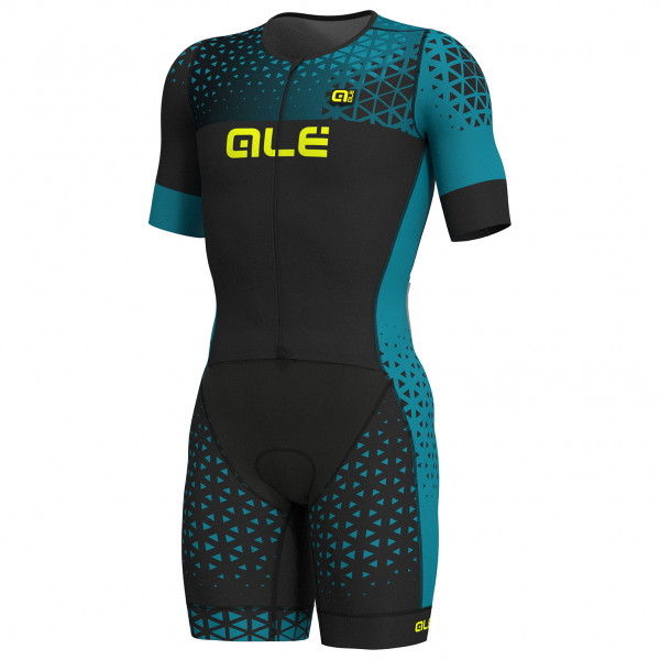Alé - S/S Rush Long Tri Skinsuit - Cycling skinsuit