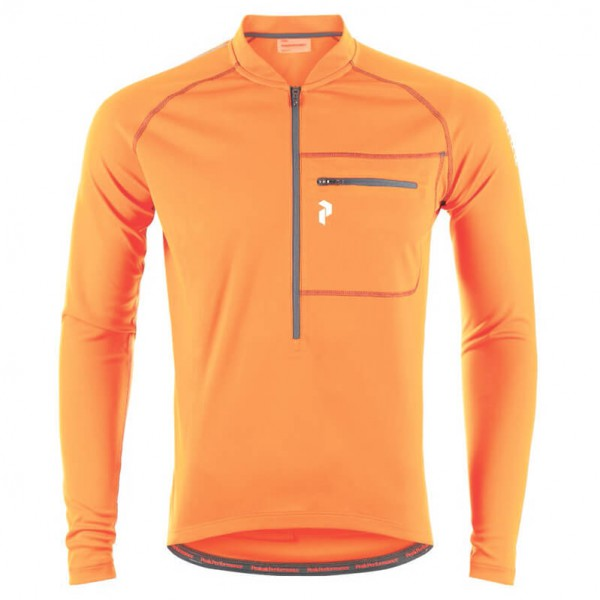 Peak Performance - Skyline Zip LS - Fietsshirt