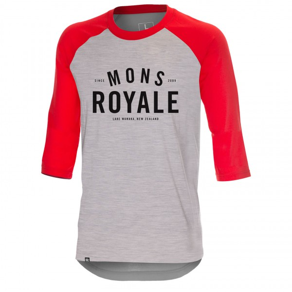 Mons Royale - Tech Bike T Shirt - Longsleeve