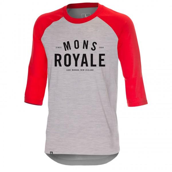 Mons Royale - Tech Bike T Shirt - Longsleeve