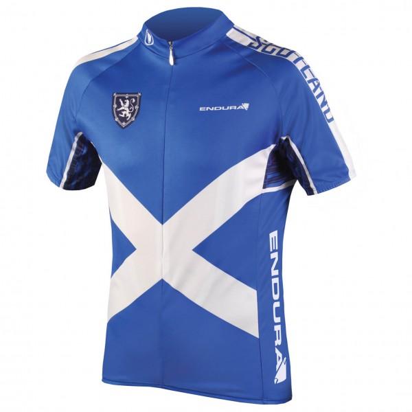 Endura - Coolmax Printed Scotland Jersey II - Pyöräilypusero
