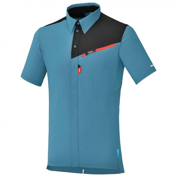 Shimano - Kurzarmtrikot Button-Up - Maillot de cyclisme