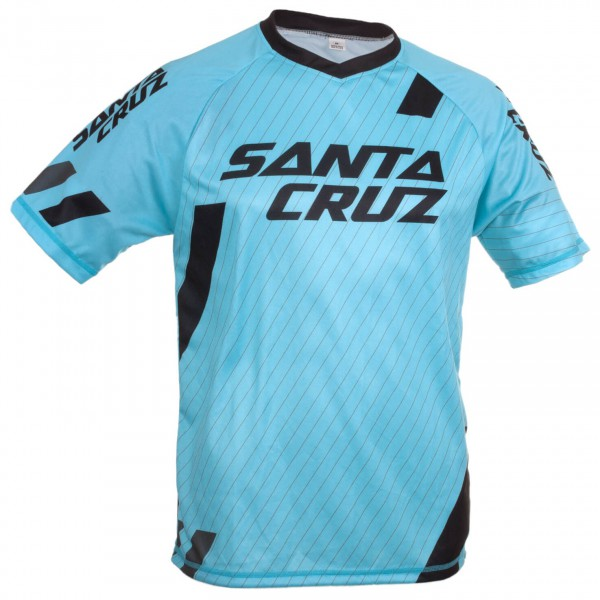 Santa Cruz - Stacked Logo Trail Jersey - Radtrikot