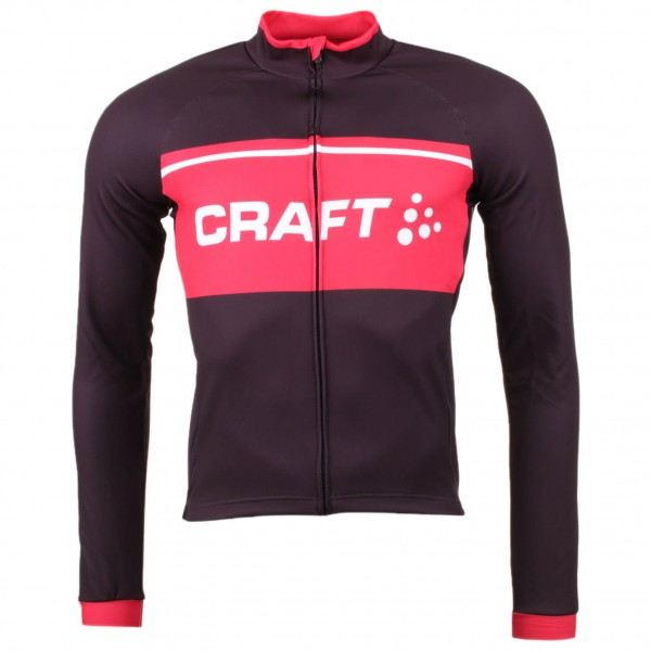 Craft - Classic Logo Jersey LS - Maillot de cyclisme