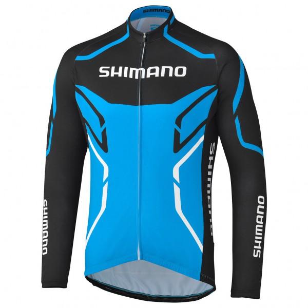 Shimano - Langarmtrikot Print Thermo - Maillot de cyclisme