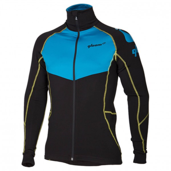 Qloom - Full Zip Woolley - Radtrikot