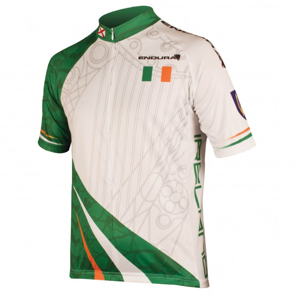 Endura - Coolmax Printed Ireland Jersey - Cycling jersey