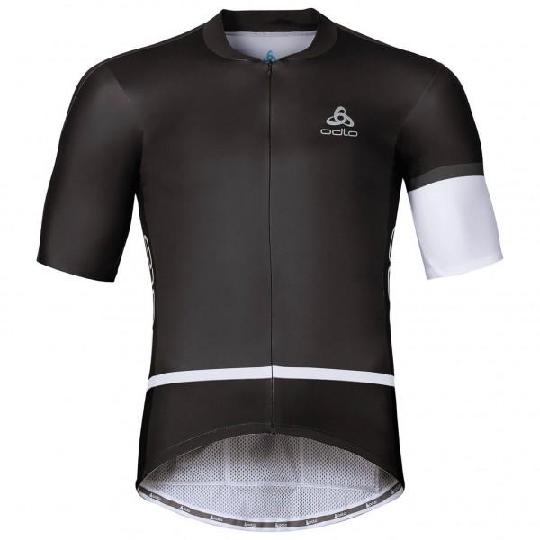 Odlo - Kamikaze Aero Shirt S/L Full Zip - Radtrikot