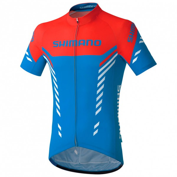 Shimano - Print Kurzarmtrikot - Maillot de cyclisme