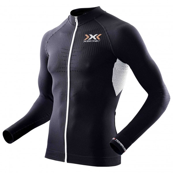 X-Bionic - The Trick Shirt L/S Full Zip - Fietsshirt