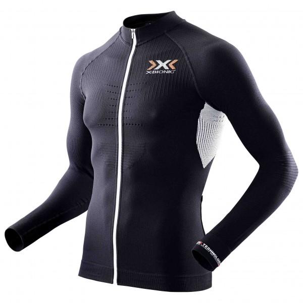 X-Bionic - The Trick Shirt L/S Full Zip - Pyöräilypusero
