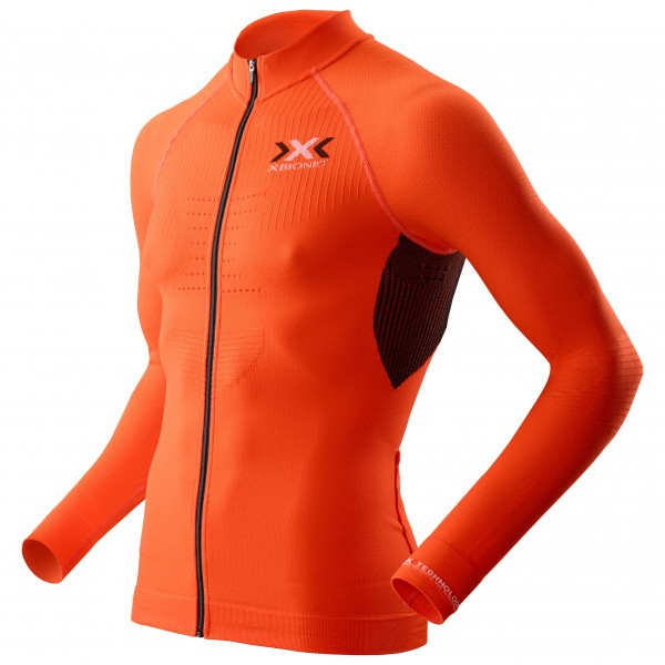 X-Bionic - The Trick Shirt L/S Full Zip - Cycling jersey