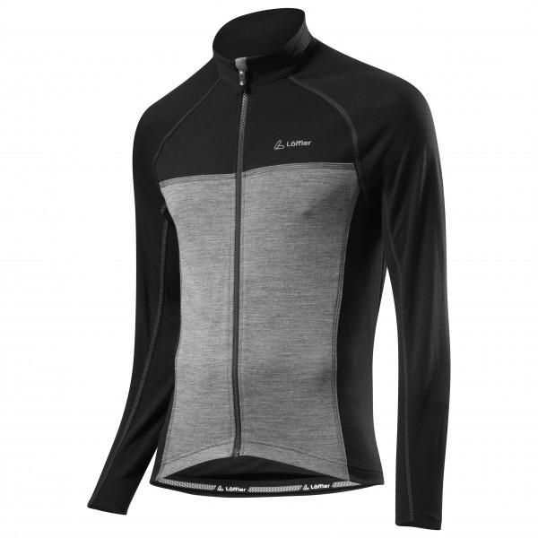 Löffler - Bike Langarmtrikot ''Merino'' Full-Zip - Fietsshirt