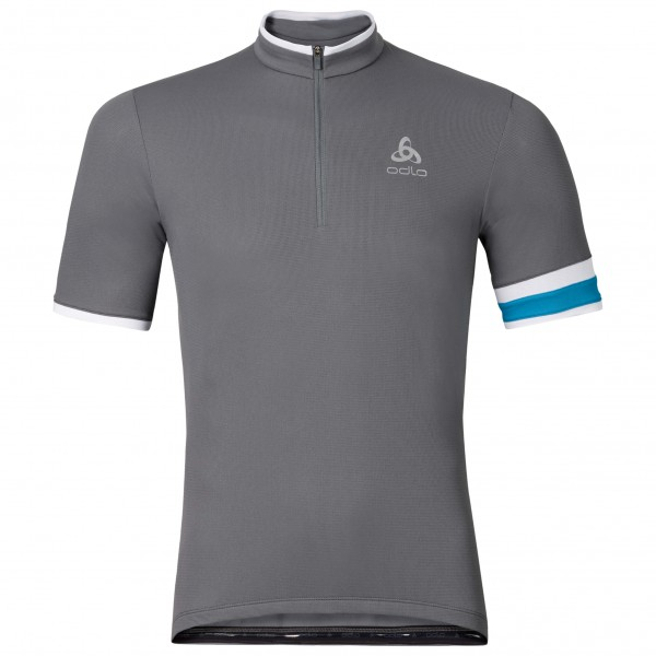 Odlo - Stand-Up Collar S/S 1/2 Zip Breeze - Cycling jersey