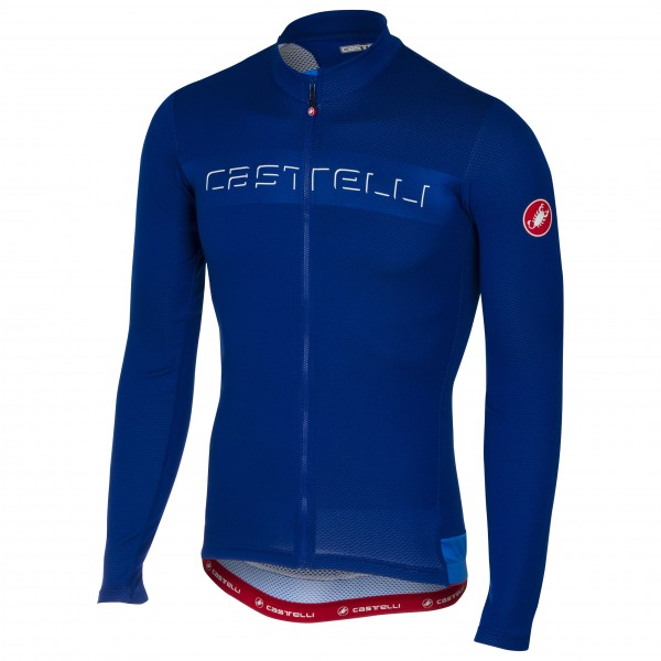 Castelli - Prologo V Long Sleeve Jersey Full Zip - Radtrikot