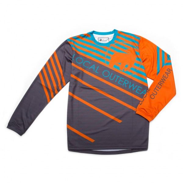Local - L/S Jersey Stream - Cykeljersey