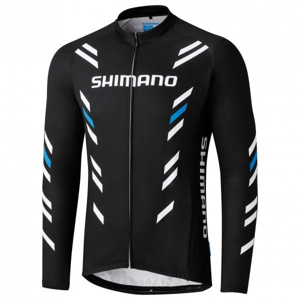 Shimano - Thermal Print Long Sleeve Jersey - Pyöräilypusero