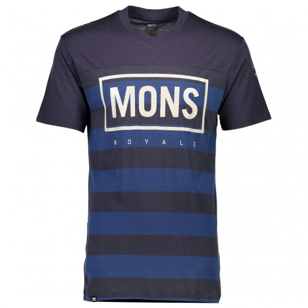Mons Royale - Redwood V T Box Logo - Pyöräilypusero
