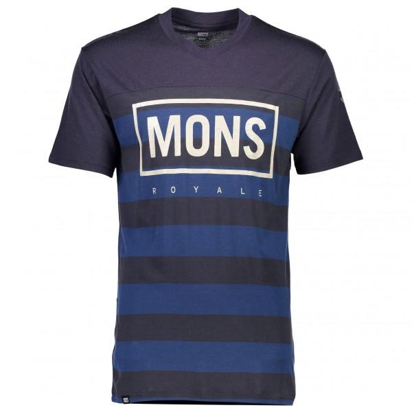 Mons Royale - Redwood V T Box Logo - Radtrikot