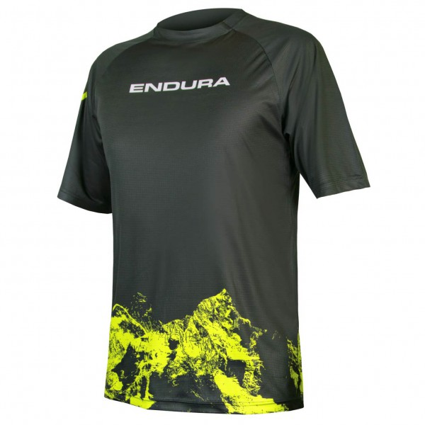 Endura - SingleTrack Print T-Shirt Mountains - Cykeljersey