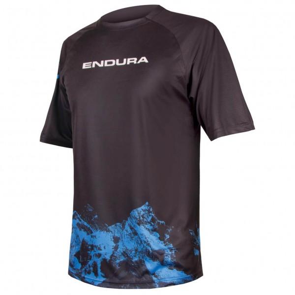 Endura - SingleTrack Print T-Shirt Mountains - Cykeljersey