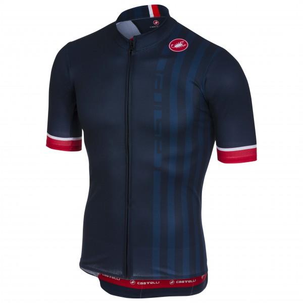 Castelli - Podio Doppio Jersey Full Zip - Pyöräilypusero