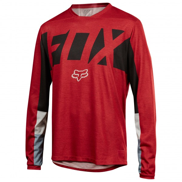 FOX Racing - Indicator L/S Drafter Jersey - Cykeltrikå