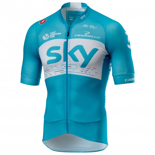 Castelli - Climber's 2.0 Jersey Team Sky 2018 - Maillot de ciclismo