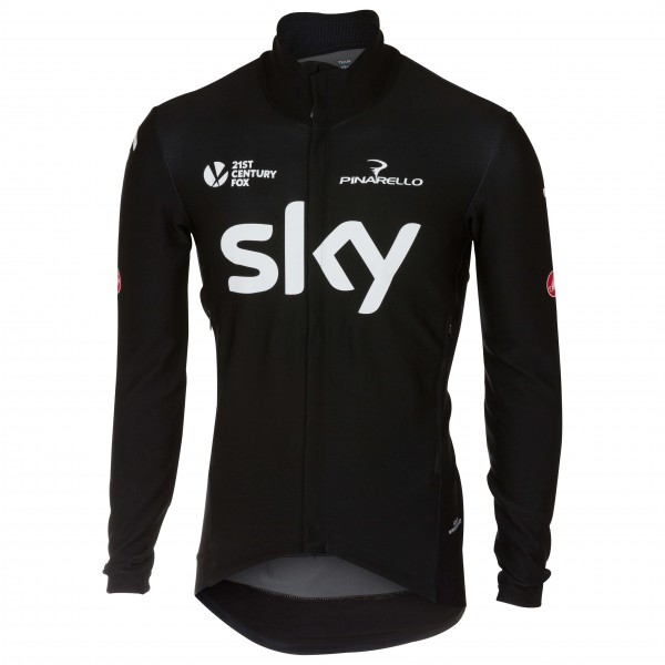 Castelli - Perfetto Long Sleeve Team Sky 2018 - Cykeltrikå